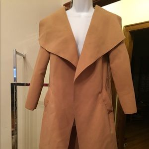 WORN ONCE BOOHOO TRENCH COAT JUNIOR /WOMEN